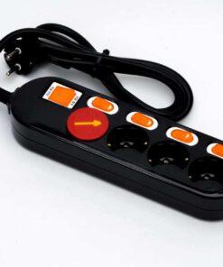 ổ cắm điện hàn quốc dm2221 màu đen